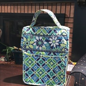 Vera Bradley out to lunch bag sack
